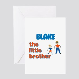 Blake - The Little Brother Greeting Card
