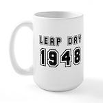 Leap Day 1948 Large Mug Mugs