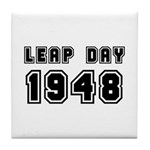 LEAP DAY 1948 Tile Coaster