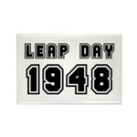 LEAP DAY 1948 Rectangle Magnet