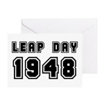 LEAP DAY 1948 Greeting Card
