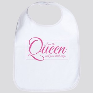 I am the Queen - Obey Baby Bib