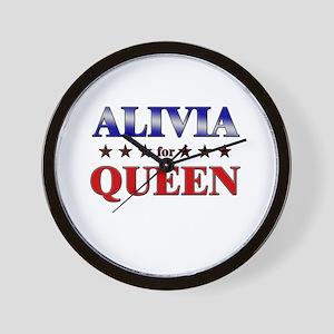 ALIVIA for queen Wall Clock