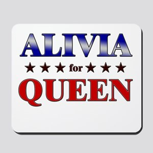 ALIVIA for queen Mousepad