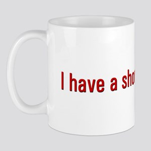 Short Attention Mug