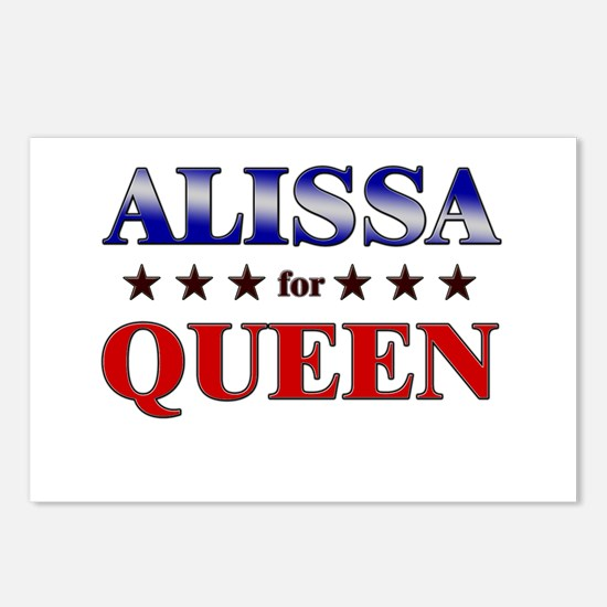ALISSA for queen Postcards (Package of 8)