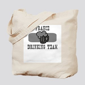 France Drinking Team Tote Bag
