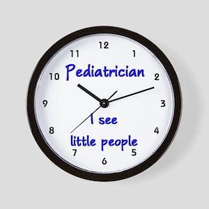 Pediatrician Wall Clock