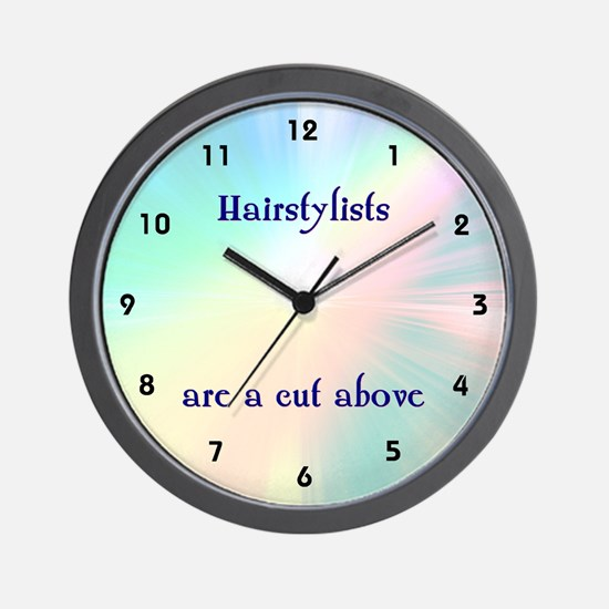 Beautician or Hairstylist Wall Clock