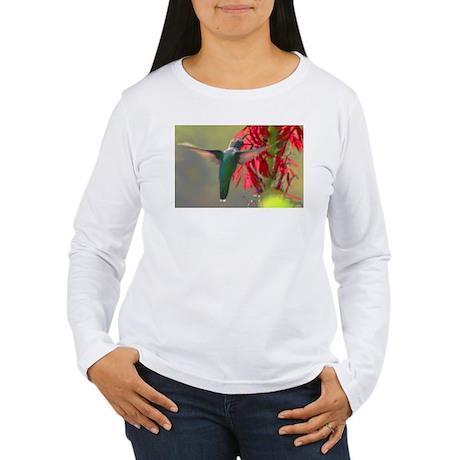 hummingbird Women's Long Sleeve T-Shirt