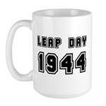 Leap Day 1944 Large Mug Mugs