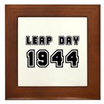 LEAP DAY 1944 Framed Tile