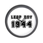 LEAP DAY 1944 Wall Clock