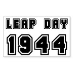 LEAP DAY 1944 Rectangle Sticker