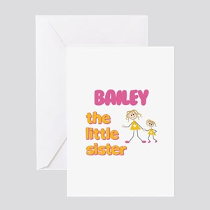 Bailey - The Little Sister Greeting Card