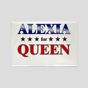 ALEXIA for queen Rectangle Magnet