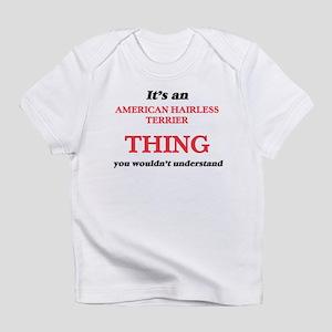 It's an American Hairless Terrier thin T-Shirt