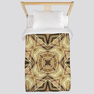 Art Deco Gold Black Glamour Twin Duvet Cover