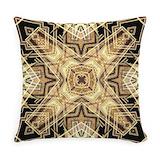 Art deco Woven Pillows
