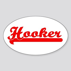 Hooker Bumper Sticker (Small Oval)