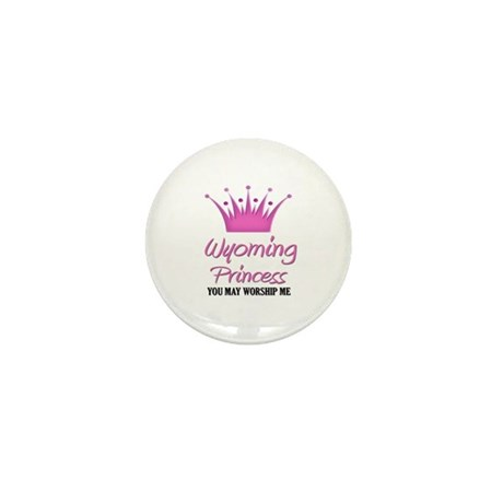 Wyoming Princess Mini Button (10 pack)