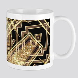 Art Deco Gold Black Glamour Mugs