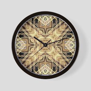 Art Deco Gold Black Glamour Wall Clock