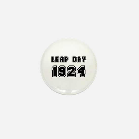 LEAP DAY 1924 Mini Button