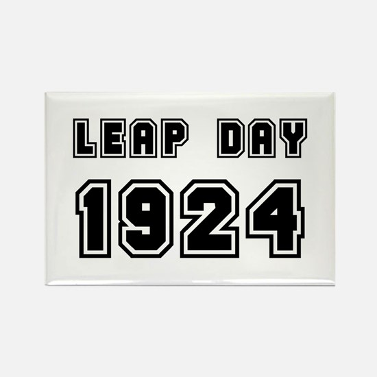 LEAP DAY 1924 Rectangle Magnet
