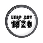 LEAP DAY 1920 Wall Clock