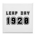 LEAP DAY 1920 Tile Coaster