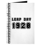 LEAP DAY 1920 Journal