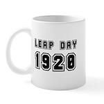 Leap Day 1920 Mug Mugs