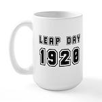 Leap Day 1920 Large Mug Mugs