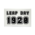 LEAP DAY 1920 Rectangle Magnet