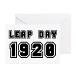 LEAP DAY 1920 Greeting Cards (Pk of 20)
