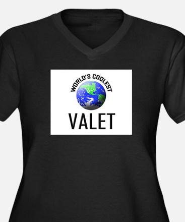 World's Coolest VALET Women's Plus Size V-Neck Dar
