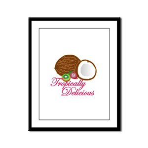 Tropically Delicious Framed Panel Print