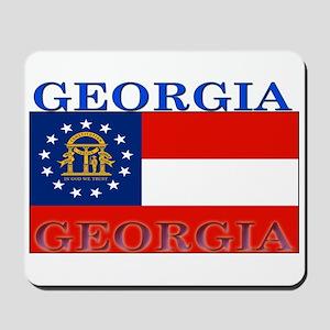 Georgia Georgian State Flag Mousepad