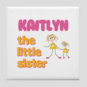 Kaitlyn - The Little Sister Tile Coaster