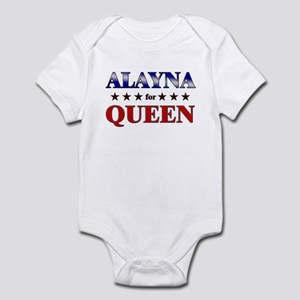 ALAYNA for queen Infant Bodysuit