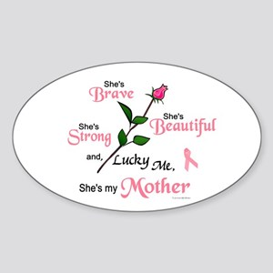 Lucky Me 2 (Mother BC) Oval Sticker