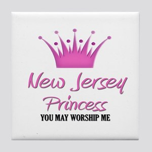 New Jersey Princess Tile Coaster