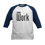 Geek @ Work Kids Baseball Jersey