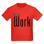 Geek @ Work Kids Dark T-Shirt