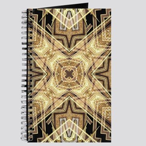 Art Deco Gold Black Glamour Journal