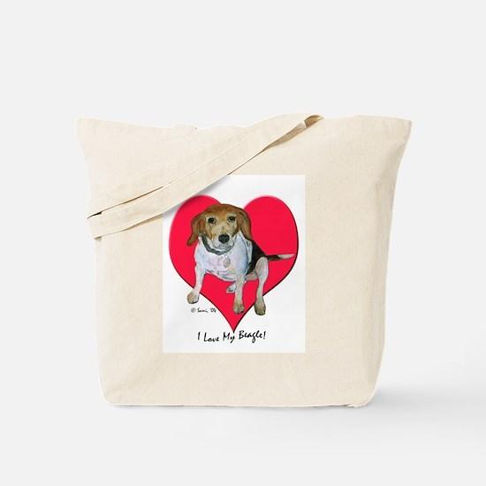 Daisy the Beagle Tote Bag