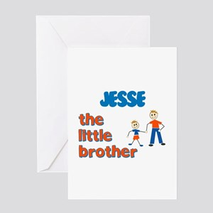 Jesse - The Little Brother Greeting Card