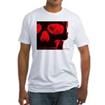 Watching! Fitted T-Shirt