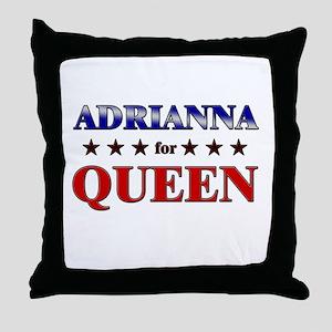 ADRIANNA for queen Throw Pillow